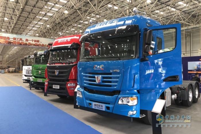 联合卡车多款国六新品矩阵