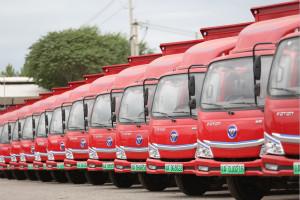 欧马可智蓝以批量大单交付开启首都绿色货运电动化发展新阶段