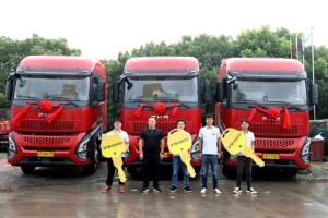 品质行天下 一汽凌源与上海飞升国际物流有限公司交车仪式圆满举行