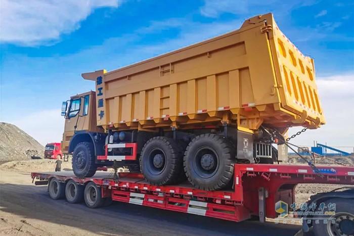 XG90是矿山施工的明星产品