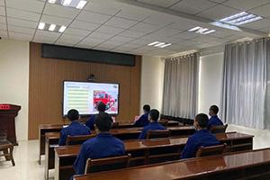 新疆消防总队曼恩底盘远程培训