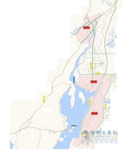 2020年9月16日起 防城港市部分区域禁止货车通行