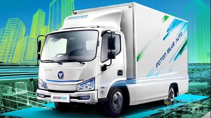欧马可智蓝新能源物流车