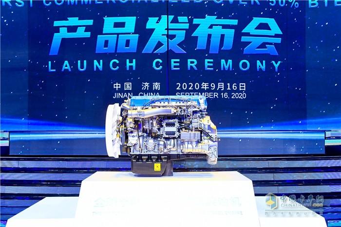 全球首款突破50%热效率商业化柴油机