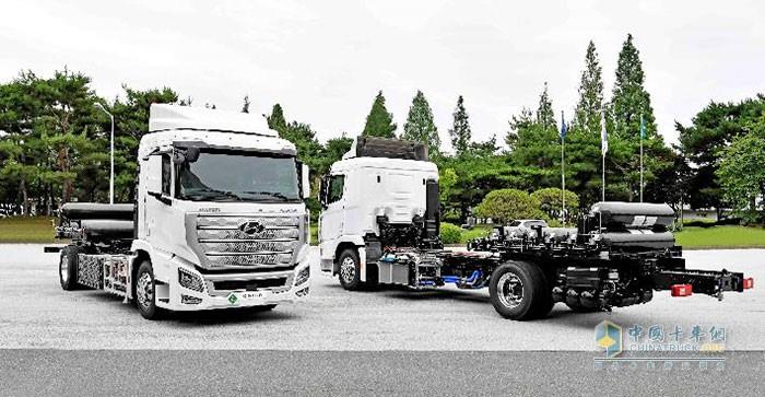 现代汽车全球首款量产氢燃料电池重卡XCIENT Fuel Cell