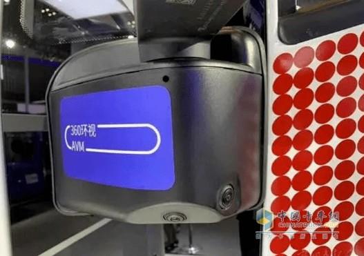 上汽红岩车罐一体智能危化车360°环视影像