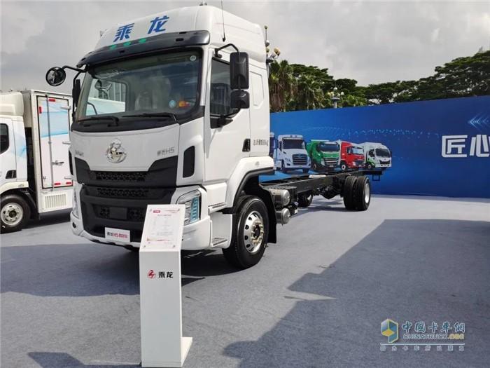 明星产品2--乘龙H5大单桥载货车