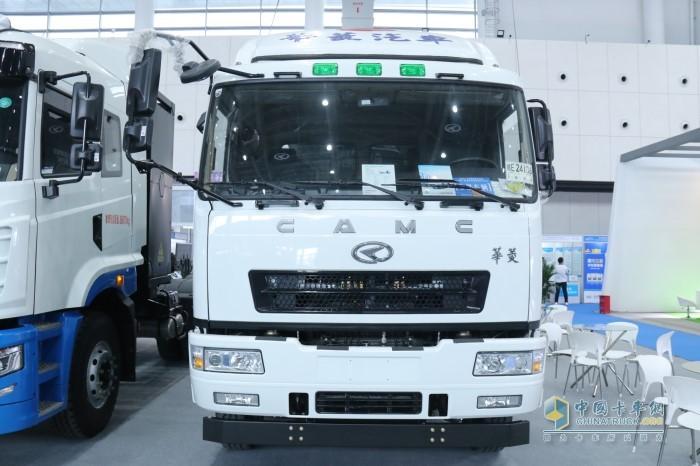华菱8X4换电搅拌运输车