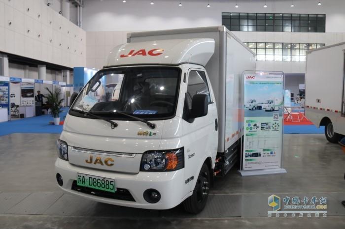 江淮帅铃i3纯电动物流车