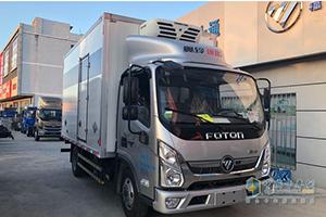 奥铃速运冷藏车北京市火热促销中 让利高达1.88万