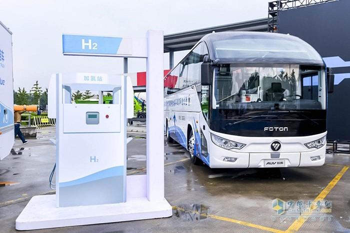 福田汽车多元化新能源产品矩阵助力北京蓝天保卫战