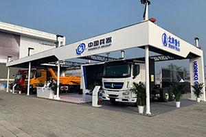 作为唯一出席北京车展的重卡企业  北奔重汽都带来了哪些产品?