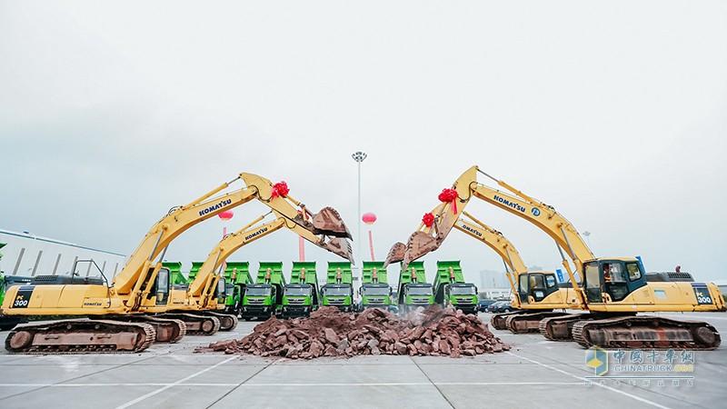 沪渝聚力,智造红岩,2020年10月14日,上汽红岩智慧工厂建设在重庆两江新区正式启动。