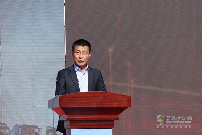 广西玉柴机器股份执行副总裁兼玉柴联合动力总经理梁和平