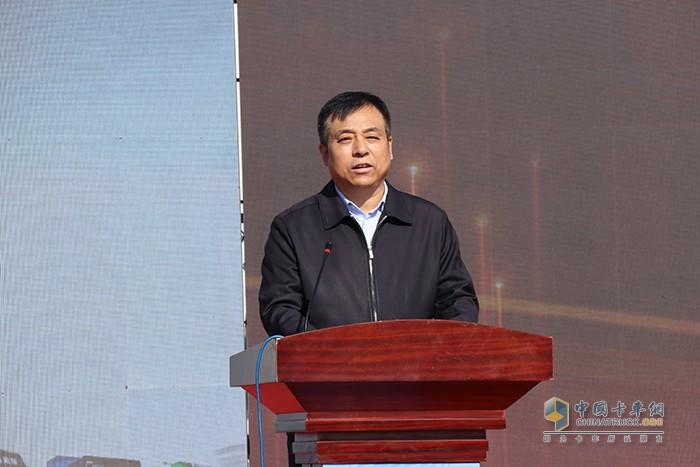 宝鸡市委常委、副市长王宁岗先生致辞