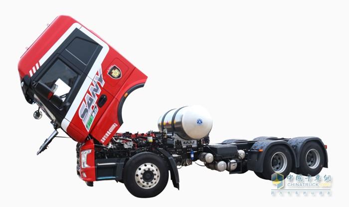 三一卡车正义版LNG牵引车