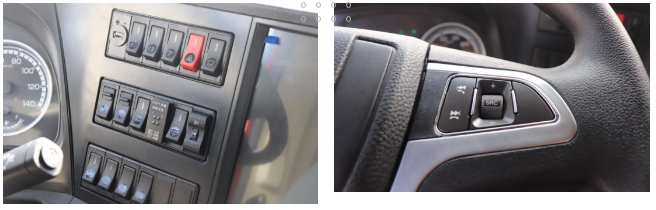 多功能驾方向盘和中控