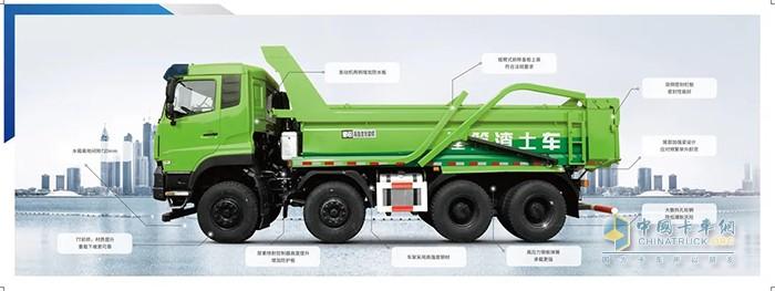 东风渣土车品质可靠