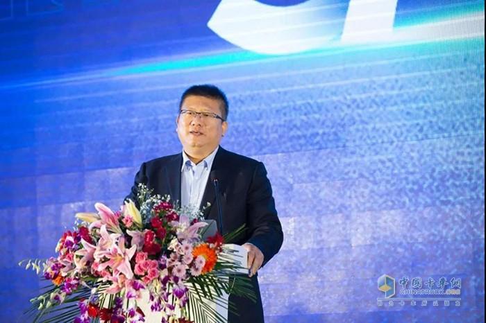 福田戴姆勒汽车营销公司副总经理、战略客户分公司总经理王维致辞