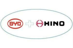 比亚迪与日野各出资50%成立合资公司,共同开发纯电动商用车