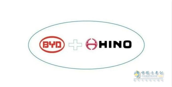 比亚迪和日野集团成立合资公司