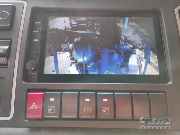 华菱星马纯电动搅拌车可以实现车辆运输过程全流程监控