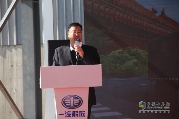 北京市政路桥建材集团党委书记、董事长刘振成先生