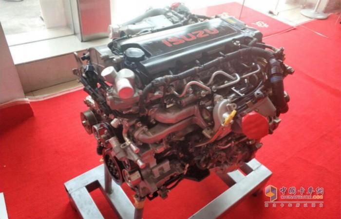 五十铃全新一代4JZ1发动机