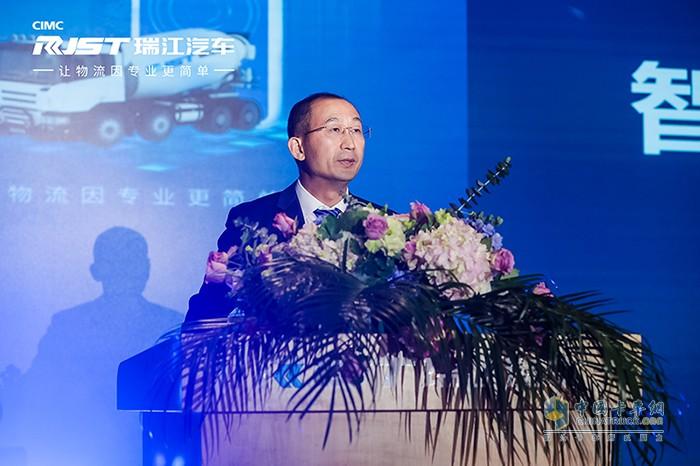 中集瑞江常务副总经理 杜存洋