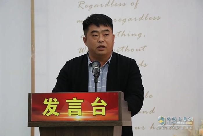 优秀经销商代表:蒙城龙鑫 刘总