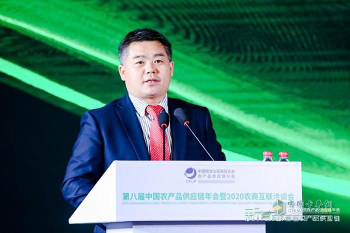 上汽红岩副总经理、营销公司总经理杨培强