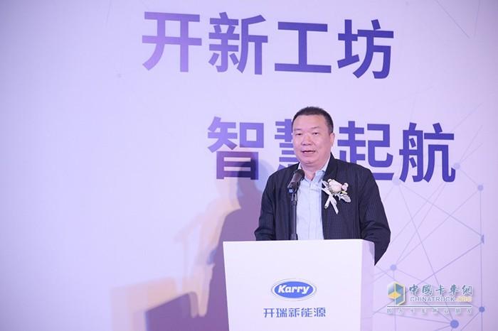 奇瑞商用车副总经理开瑞新能源事业部总经理胡湘