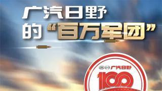 壮志十年 百万雄心,一起见证广汽日野的百万军团!