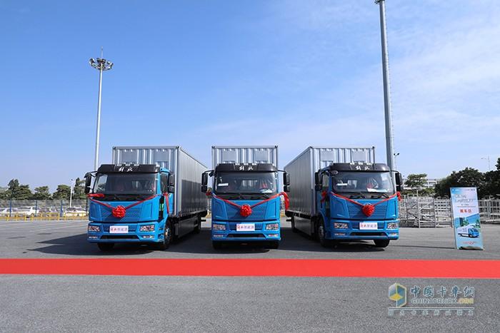 解放J6L 新能源载货车