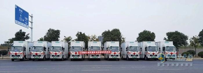 绿色慧联向顺丰速运交付数百台新能源物流车