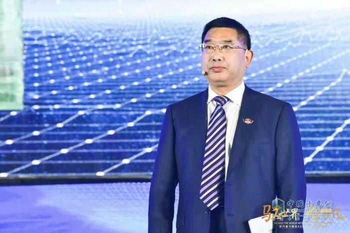 陕西汽车控股集团党委书记、董事长袁宏明