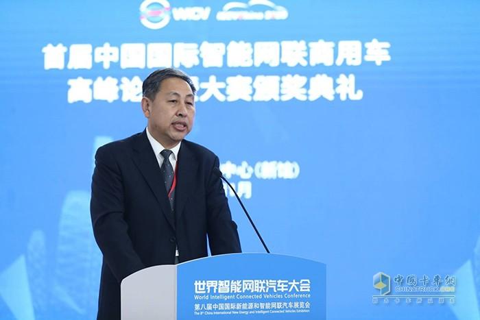 中国贸促会机械行业分会副会长周卫东