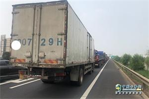 天津:蓟州区施工路段禁止货运车通行