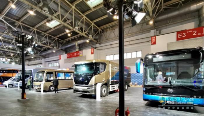 比亚迪商用车多款新品亮相北京道路运输车辆展