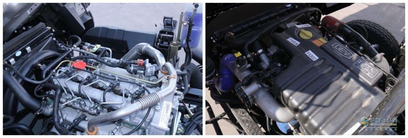 解放动力4DD1发动机与云内动力D30TCIF1发动机