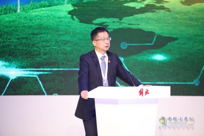 一汽解放发动机事业部副总经理黄成海先生致辞