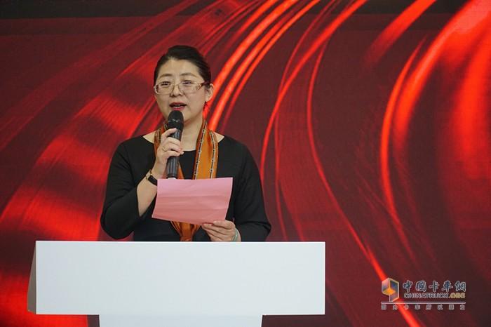 中国年度卡车评委会主席于晶