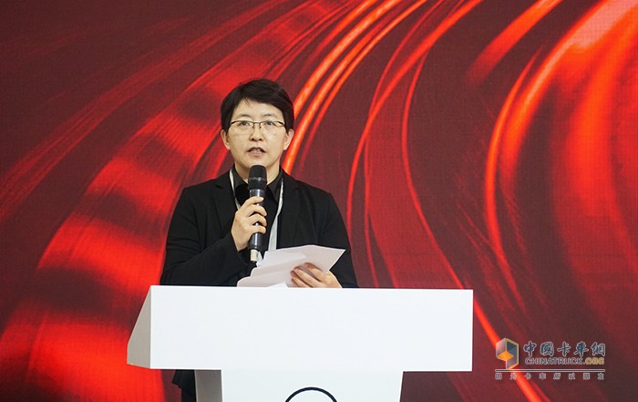 中国国际贸易促进委员会汽车分会副会长杨琳