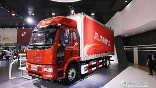 一汽解放J6L领航版2.0载货广州车展发布  重大升级再领新征程