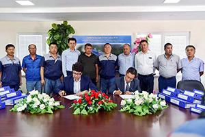 玲珑轮胎对乌兹别克斯坦技术服务项目开启二期合作历程