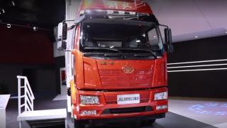 【广州车展】平地板设计 一汽解放J6L领航版2.0载货车再次定义了中国高端中卡