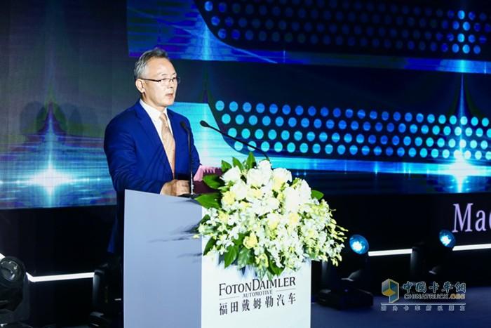 北京市怀柔区委书记、怀柔科学城党工委书记戴彬彬致辞