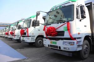 推动绿色港口建设 华菱新能源重卡在南京港投入使用