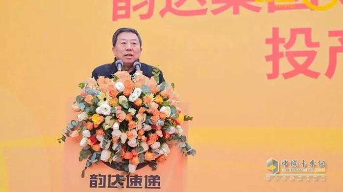 中国快递协会会长高宏峰