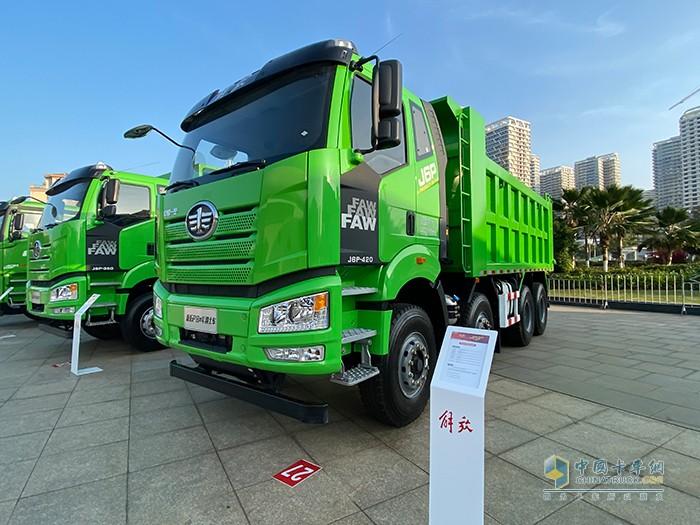 新J6P 短轴距自卸车